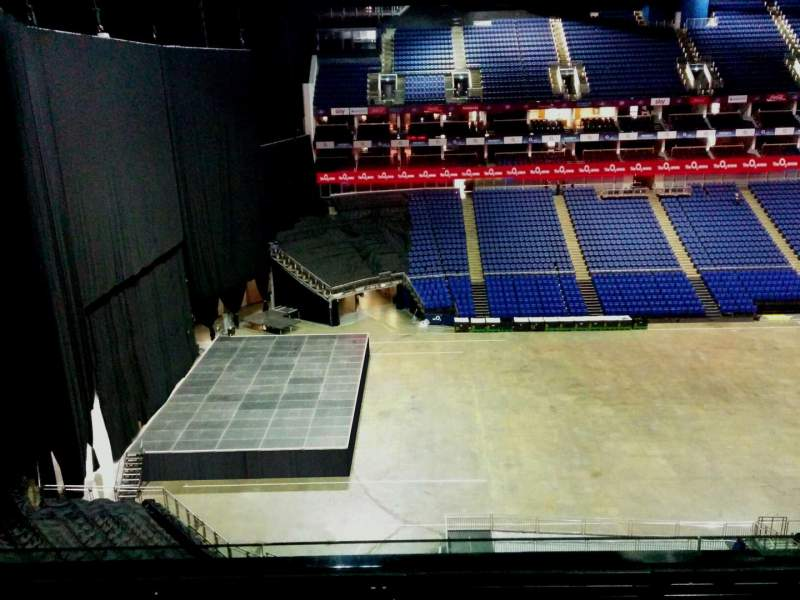 Seating view for The O2 Arena Section 401 Row d Seat 473
