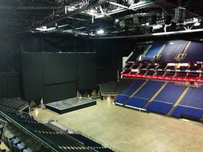 Seating view for The O2 Arena Section 406 Row d Seat 574