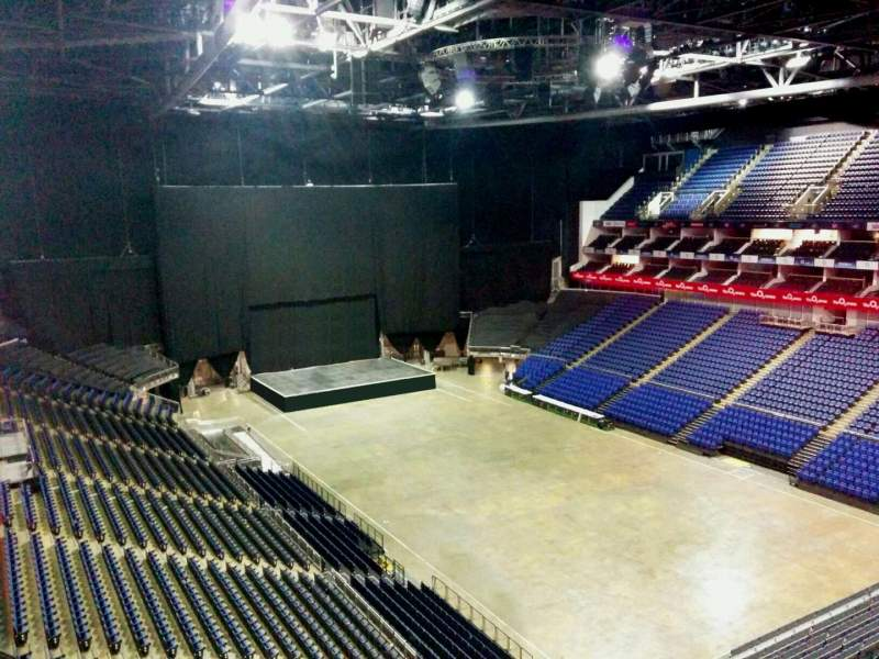 Seating view for The O2 Arena Section 408 Row d Seat 622