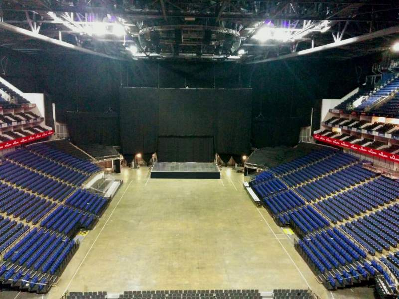 Seating view for The O2 Arena Section 411 Row d Seat 718