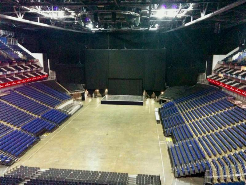 Seating view for The O2 Arena Section 412 Row d Seat 738