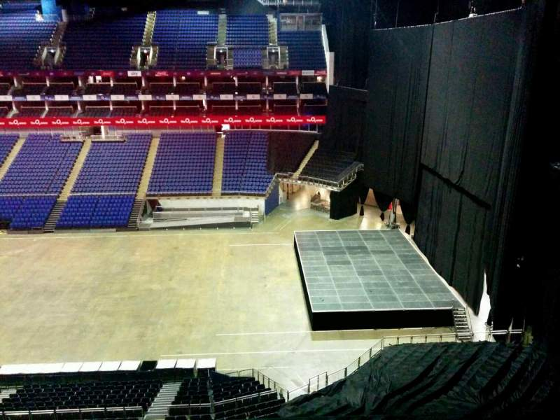 Seating view for The O2 Arena Section 422 Row d Seat 967