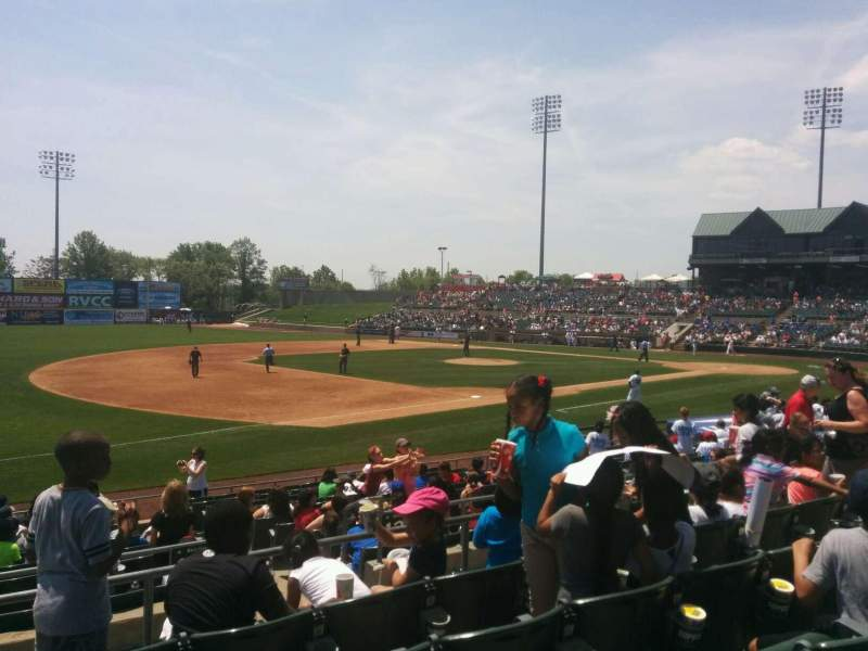 Seating view for TD Bank Ballpark Section 218 Row o Seat 11