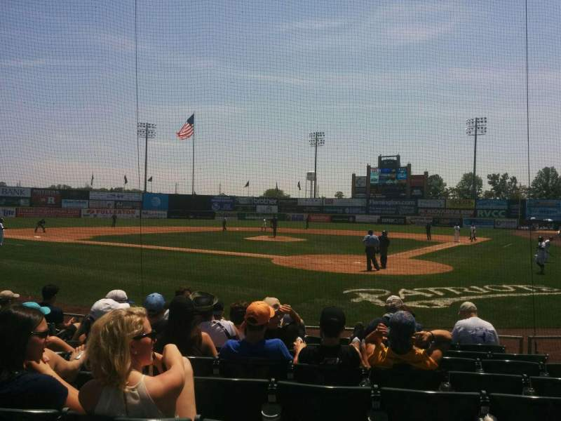 Seating view for TD Bank Ballpark Section 104 Row i Seat 6