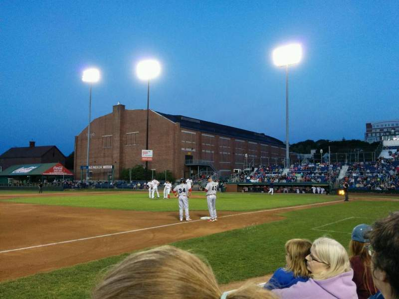 Seating view for Hadlock Field Section 113 Row c Seat 9