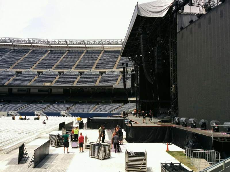 Seating view for Soldier Field Section 103 Row 6 Seat 8