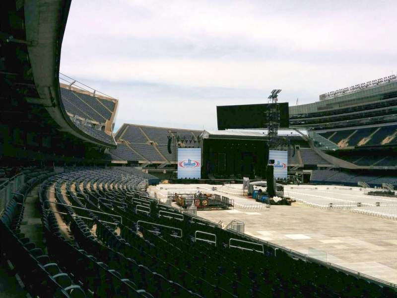 Seating view for Soldier Field Section 128 Row 18 Seat 2