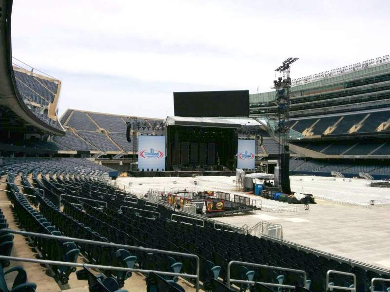 Seating view for Soldier Field Section 130 Row 16 Seat 9