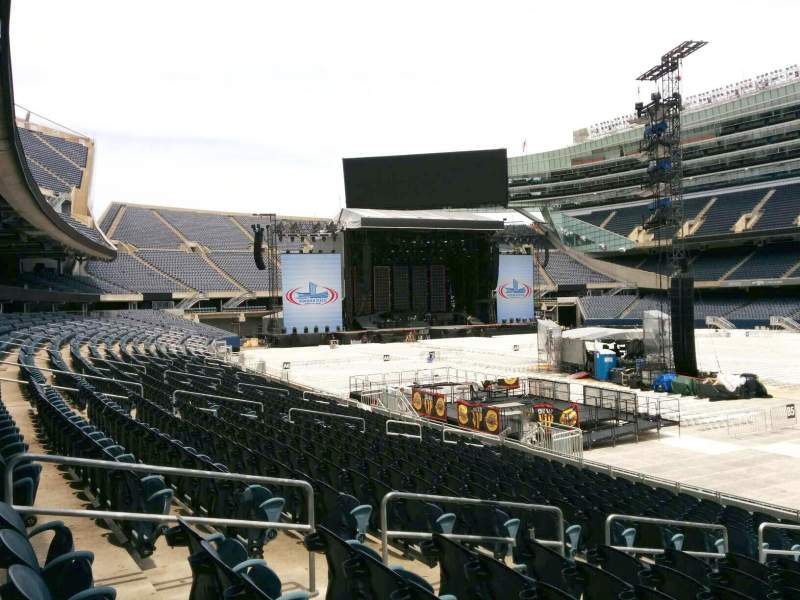 Seating view for Soldier Field Section 131 Row 16 Seat 9