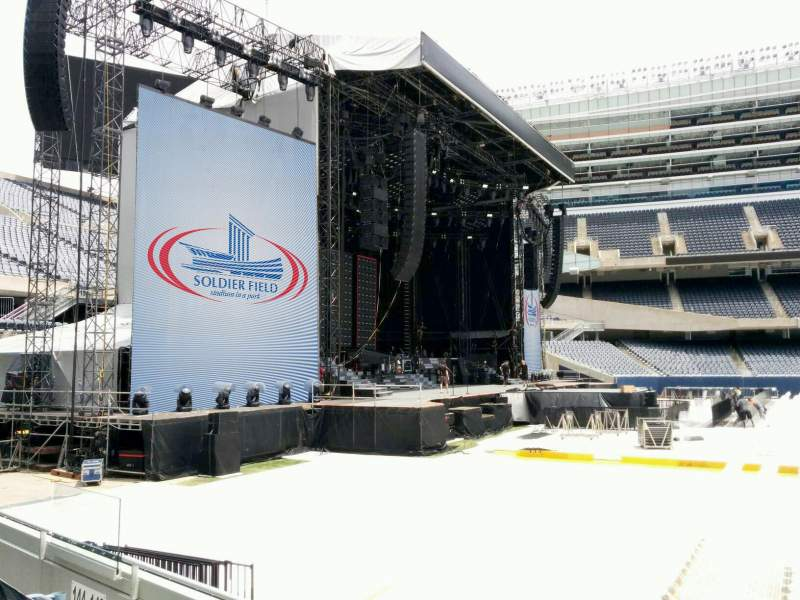 Seating view for Soldier Field Section 143 Row 4 Seat 11
