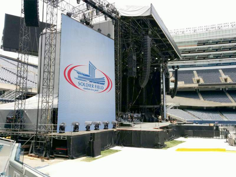 Seating view for Soldier Field Section 144 Row 4 Seat 11