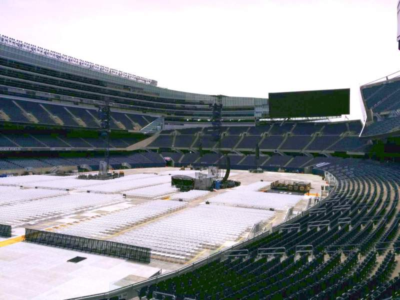 Seating view for Soldier Field Section 246 Row 2 Seat 8