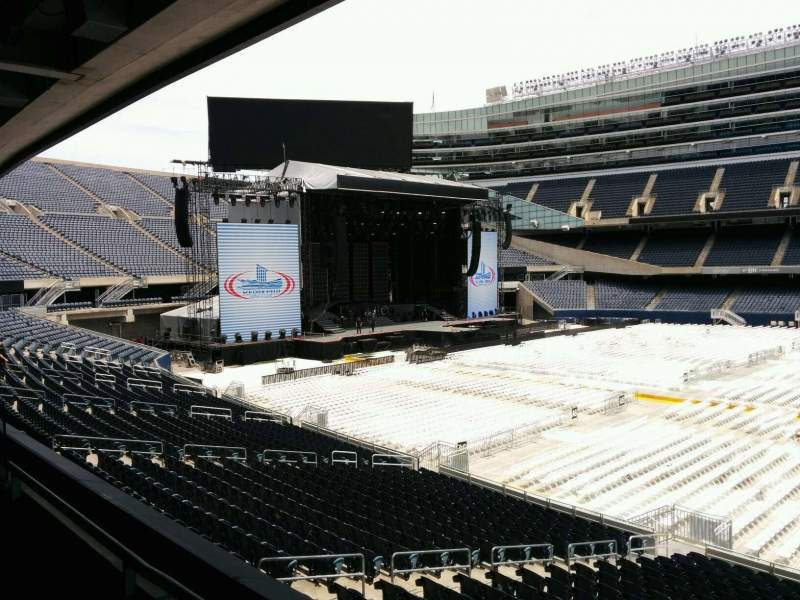 Seating view for Soldier Field Section 237 Row 2 Seat 9