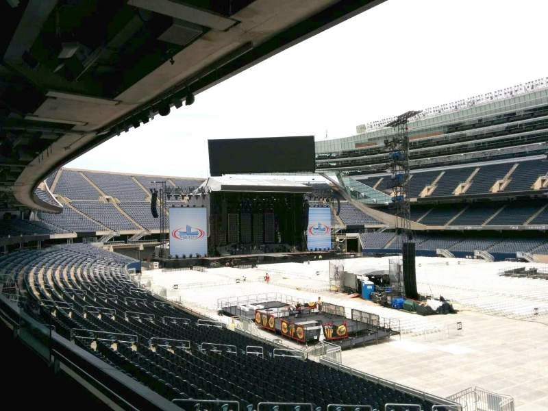 Seating view for Soldier Field Section 232 Row 2 Seat 10