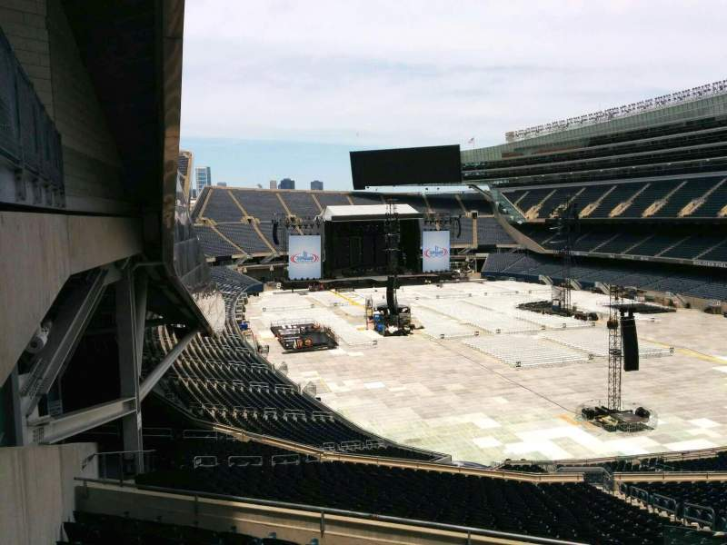 Seating view for Soldier Field Section 326 Row 9 Seat 1