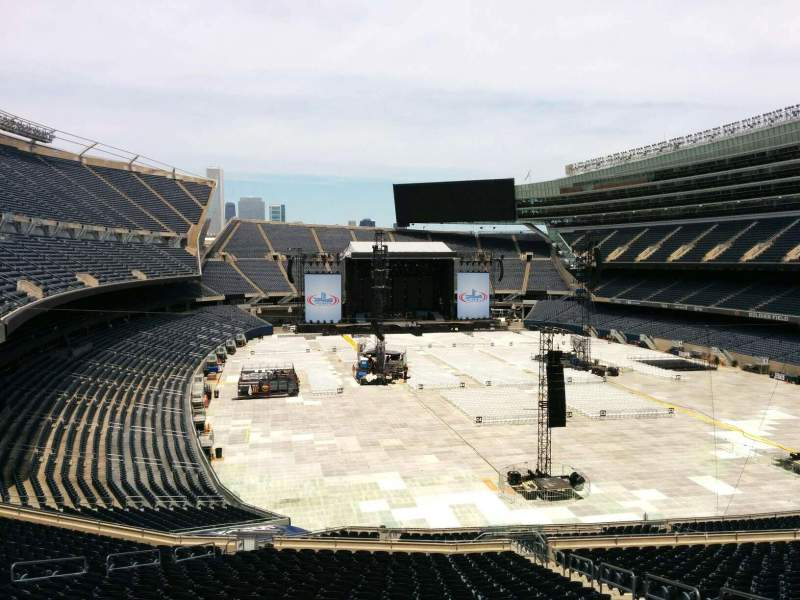 Seating view for Soldier Field Section 325 Row 3 Seat 17