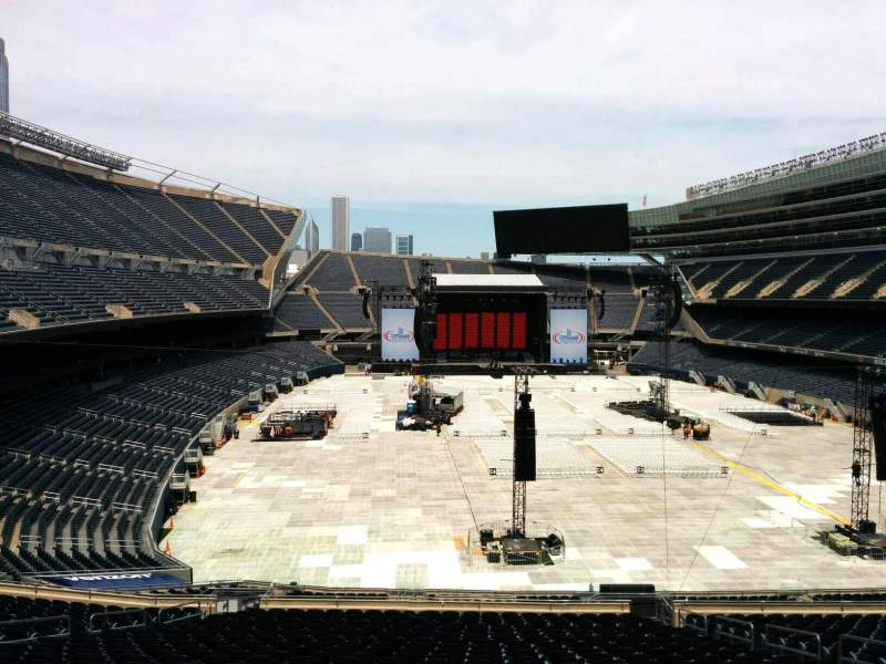 Seating view for Soldier Field Section 324 Row 3 Seat 17