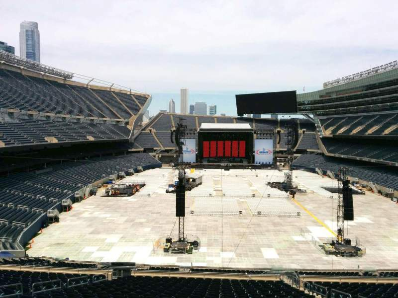 Seating view for Soldier Field Section 323 Row 3 Seat 16
