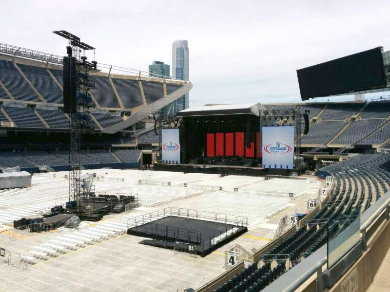 Seating view for Soldier Field Section 212 Row 2 Seat 11