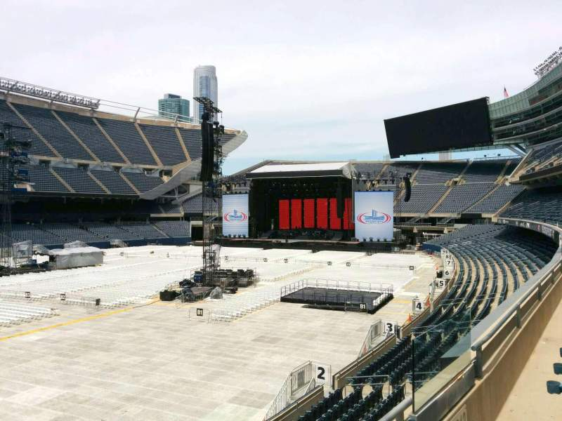 Seating view for Soldier Field Section 214 Row 2 Seat 14