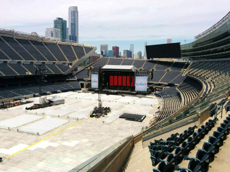 Seating view for Soldier Field Section 317 Row 11 Seat 22