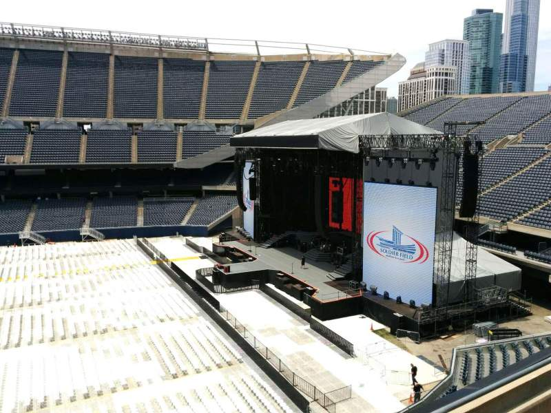 Seating view for Soldier Field Section 306 Row 3 Seat 8