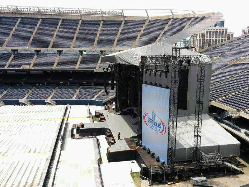 Seating view for Soldier Field Section 304 Row 3 Seat 8