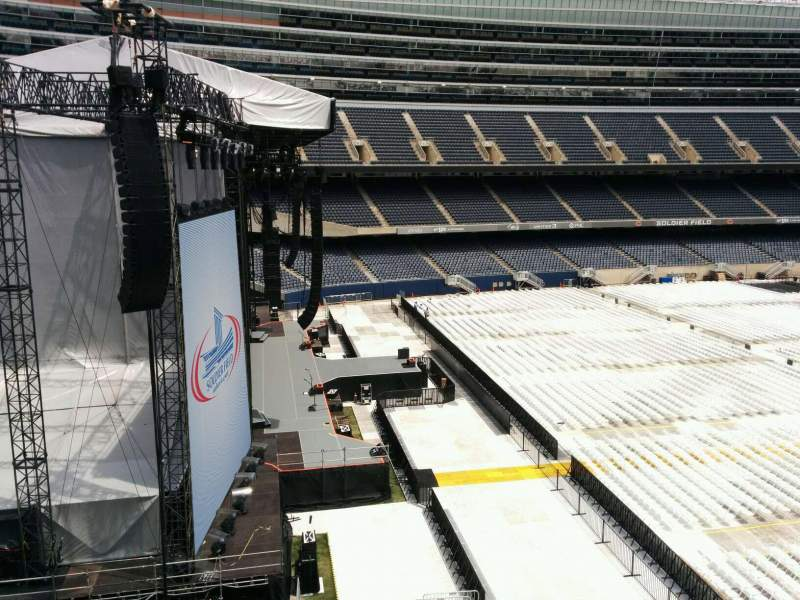 Seating view for Soldier Field Section 344 Row 3 Seat 21