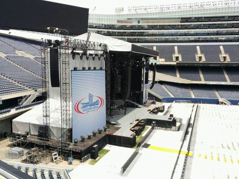 Seating view for Soldier Field Section 342 Row 2 Seat 11