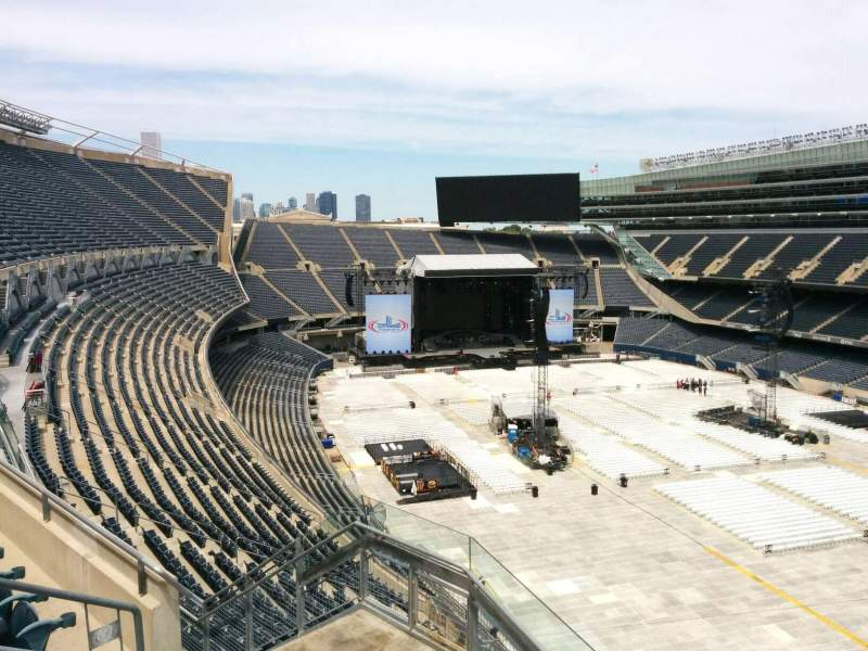 Seating view for Soldier Field Section 429 Row 4 Seat 7