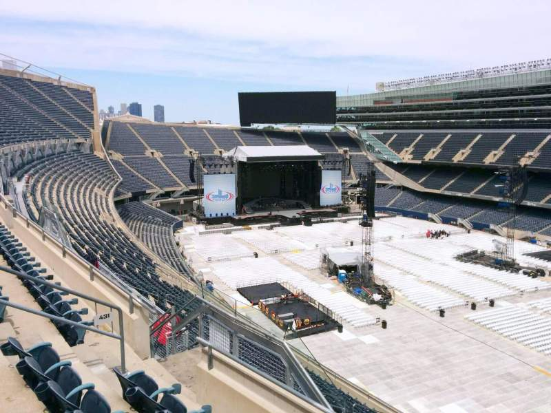 Seating view for Soldier Field Section 431 Row 4 Seat 10