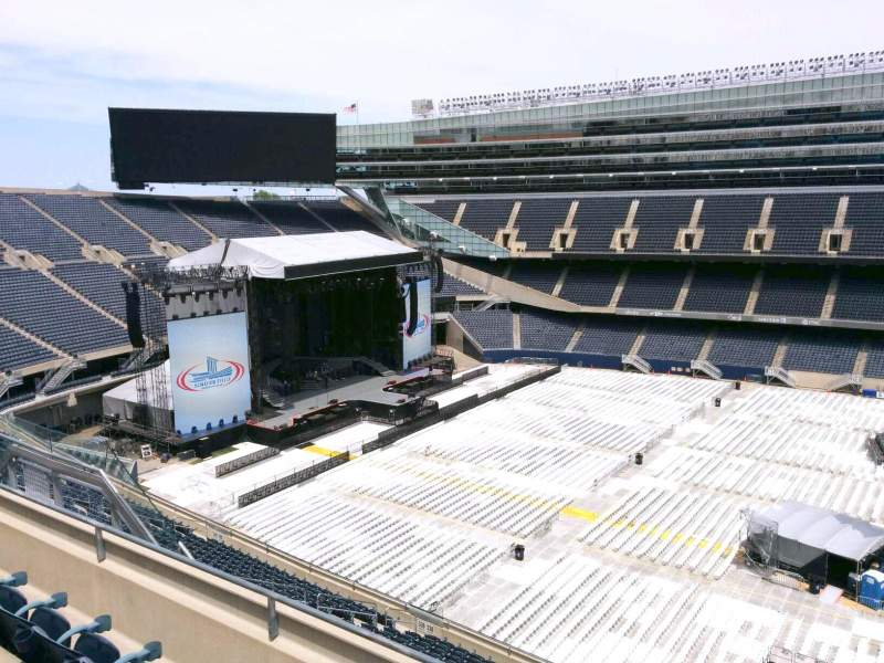 Seating view for Soldier Field Section 437 Row 4 Seat 15