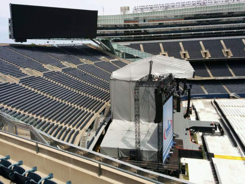 Seating view for Soldier Field Section 443 Row 4 Seat 15