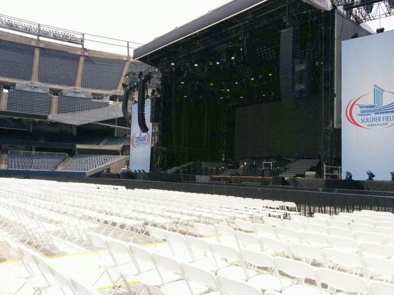 Seating view for Soldier Field Section a1 Row 13 Seat 11