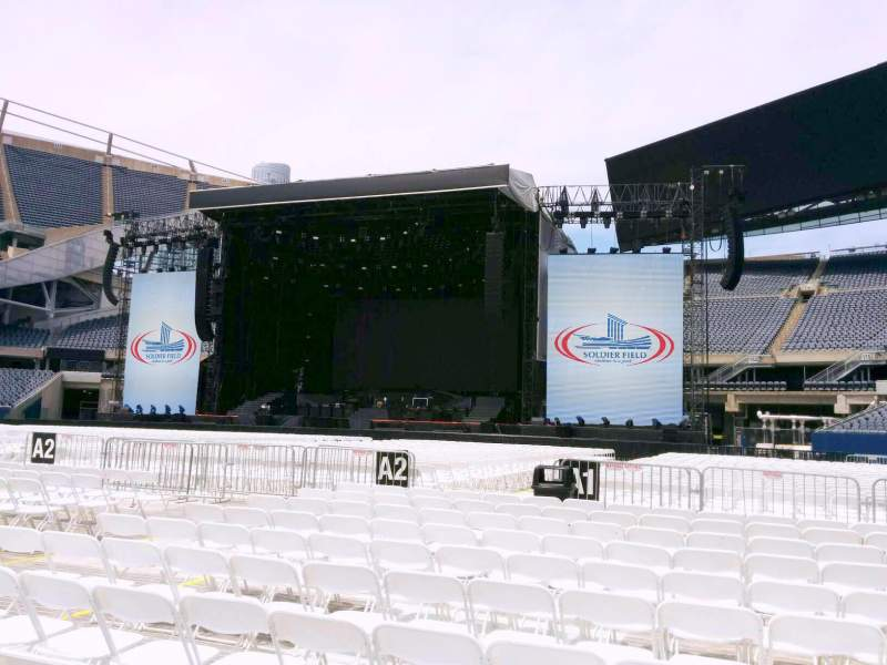 Seating view for Soldier Field Section b1 Row 11 Seat 11
