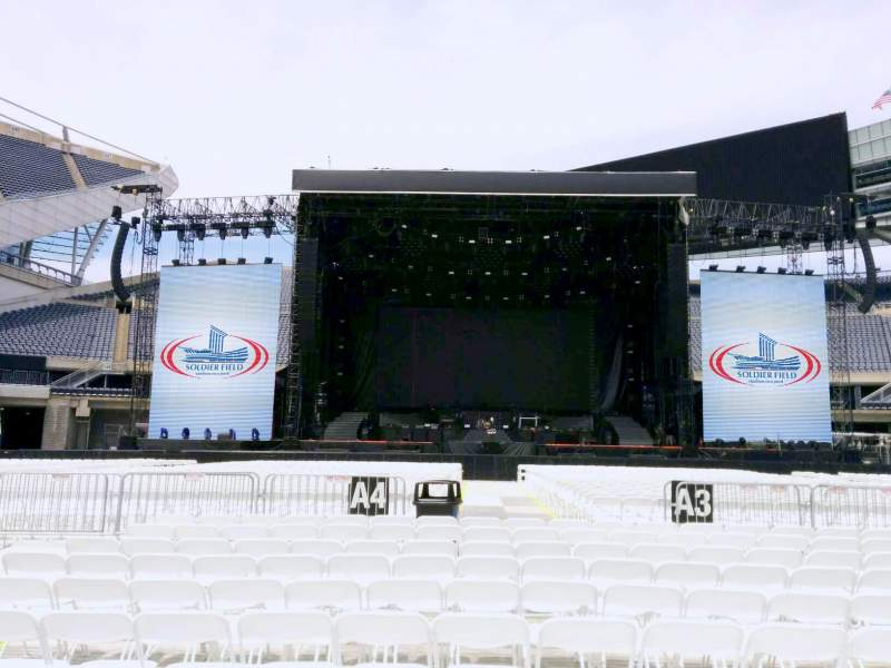 Seating view for Soldier Field Section b3 Row 11 Seat 8