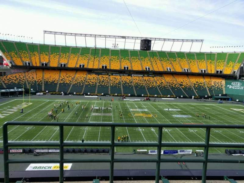 Seating view for Commonwealth Stadium (Edmonton) Section U Row 48 Seat 2