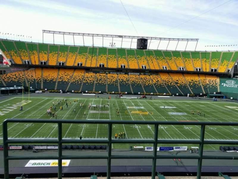 Seating view for Commonwealth Stadium (Edmonton) Section U Row 48 Seat 2
