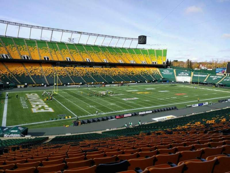 Seating view for Commonwealth Stadium (Edmonton) Section z Row 41 Seat 17