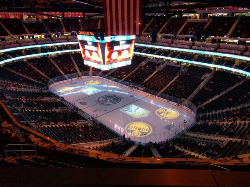 Rogers Place, section: 232, row: wc, seat: 5