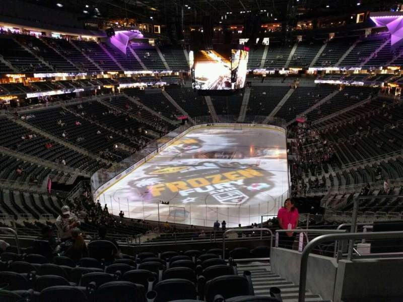 T Mobile Arena Section 102 Row J Seat 12 Los Angeles