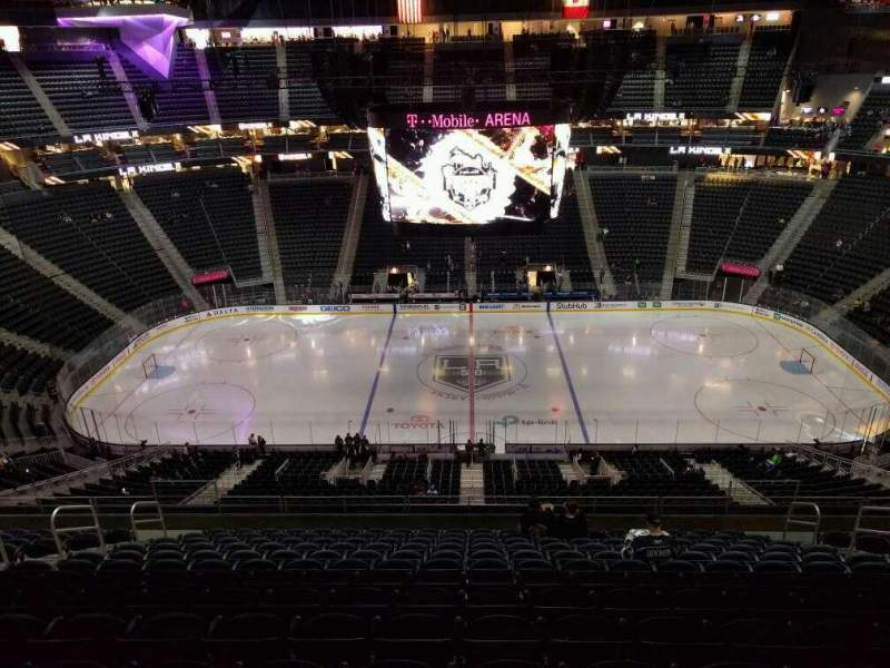 Seating view for T-Mobile Arena Section 223 Row n Seat 11