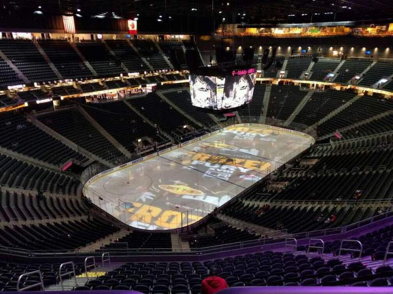 Seating view for T-Mobile Arena Section 218 Row wc
