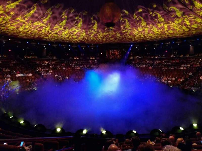 Seating view for Wynn Theatre Section a Row h Seat 28