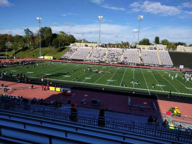 Johnny Unitas Stadium, section: 210, row: h, seat: 13