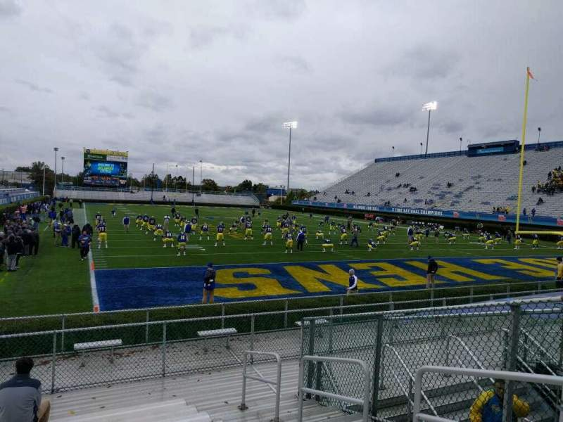 Seating view for Delaware Stadium Section hh Row l Seat 4