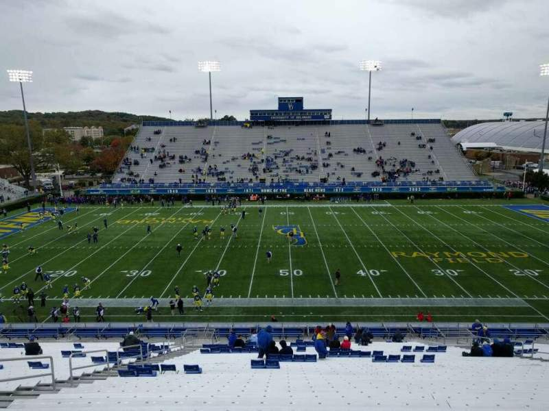 Seating view for Delaware Stadium Section k Row mm Seat 21