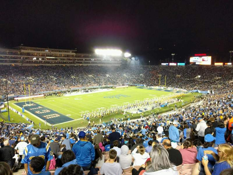 Seating view for Rose Bowl Section 1-H Row 76 Seat 104