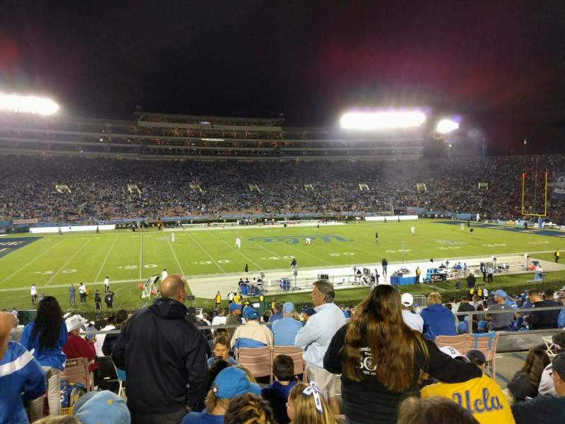 Seating view for Rose Bowl Section 3-H Row 37 Seat 102