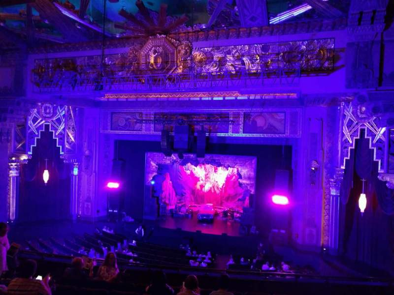 Seating view for Pantages Theatre (Hollywood) Section Mezzanine RC Row h Seat 209